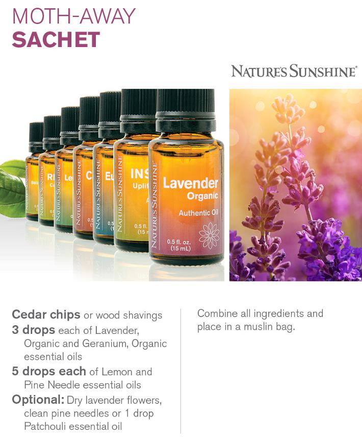 Lavender Moth Sachet