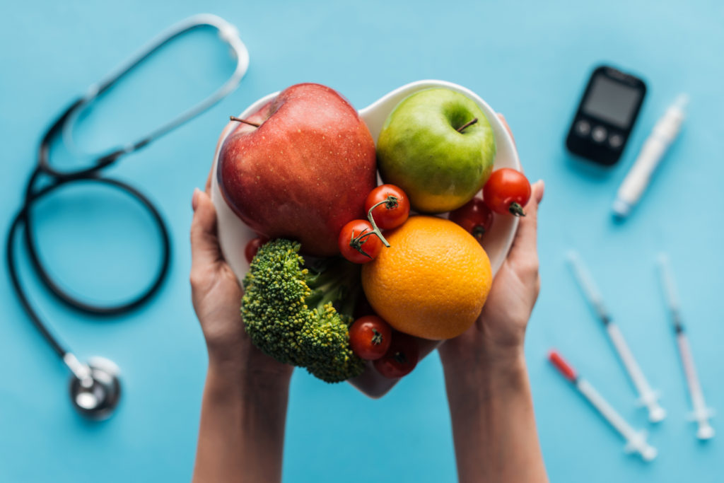 maintain a healthy heart with a healthy diet