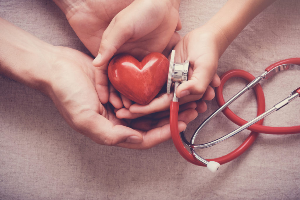 improve heart health with diet and exercise